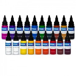 intenze Tattoo İnk 19 Color Set 30 ML