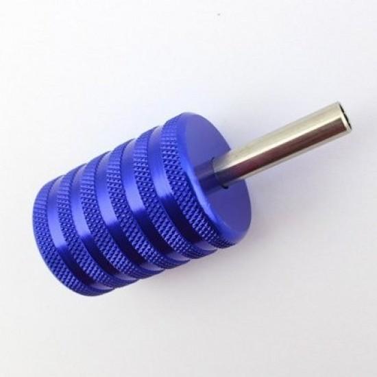 25mm Aluminum Tattoo Grip Blue