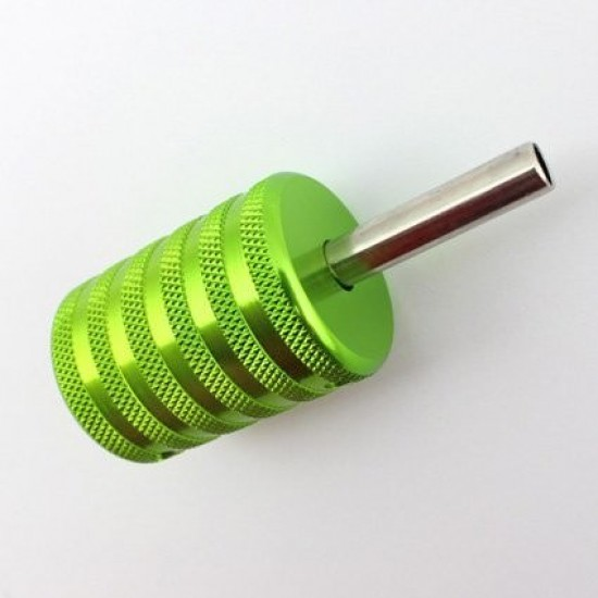 35mm Tattoo Aluminum Grip Green