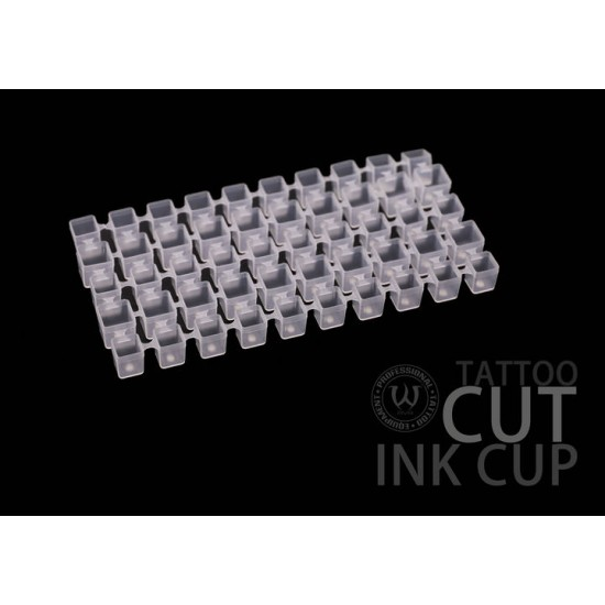 Clear Tattoo Modul Cut Ink Cap
