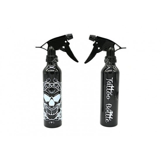 Tattoo Sterile Sprey Bottle 300ml Black