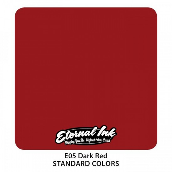 Eternal Tattoo İnk Dark Red 30 ML