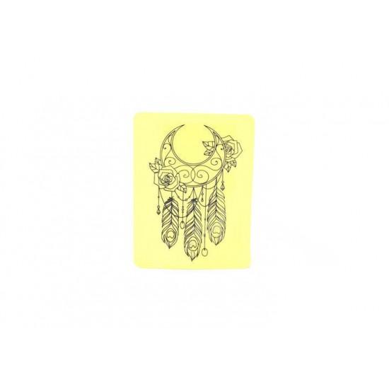 Dreamcatcher Tattoo Practice Skin 2