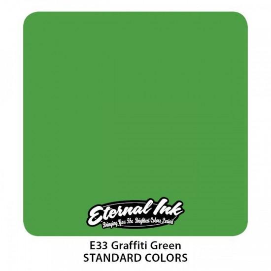 Eternal Tattoo İnk Graffiti Green 30 ML
