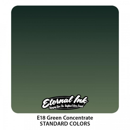 Eternal Tattoo İnk Green Concentrate 30 ML