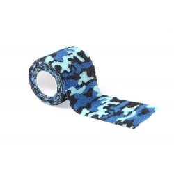 Tattoo Grip Bandage Blue Camouflage
