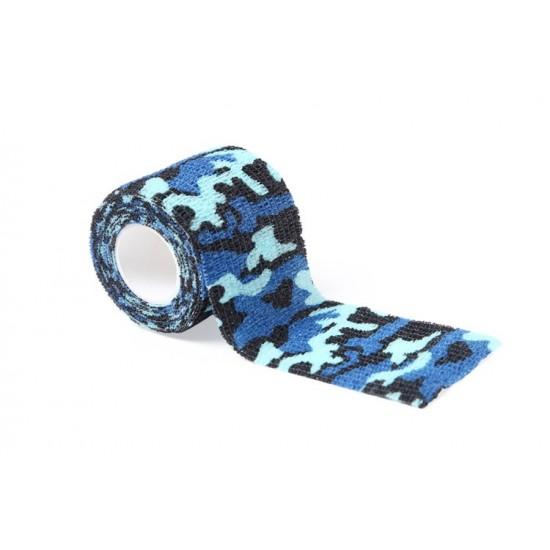 Tattoo Grip Bandage Blue Camouflage