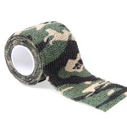 Tattoo Grip Bandage Green Camouflage