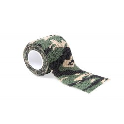 Tattoo Grip Bandage Green Camouflage