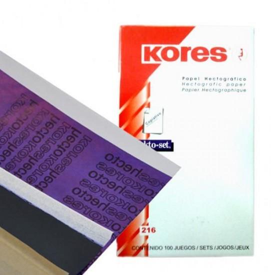 Kores Hektograf Transfer Kağıdı 1 Adet
