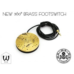 Ava New Skull DNA Brass Tattoo Footswitch