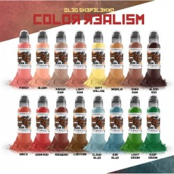 Oleg Shepelenko Realism Color ink Set