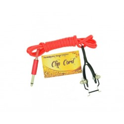 Premium Quality Silicone Tattoo Machine Clipcord Red