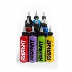 Radiant Color Tattoo İnk Set 15ML 10 Pcs