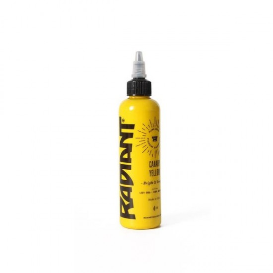 Radiant Color Tattoo ink Canary Yellow 30 ML