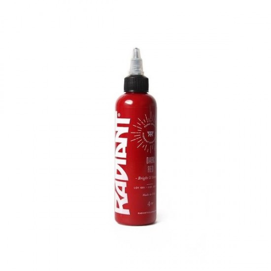 Radiant Color Tattoo İnk Dark Red 30ML