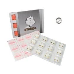 Studex Mini Boy Yuvarlak Beyaz Taşlı 3mm