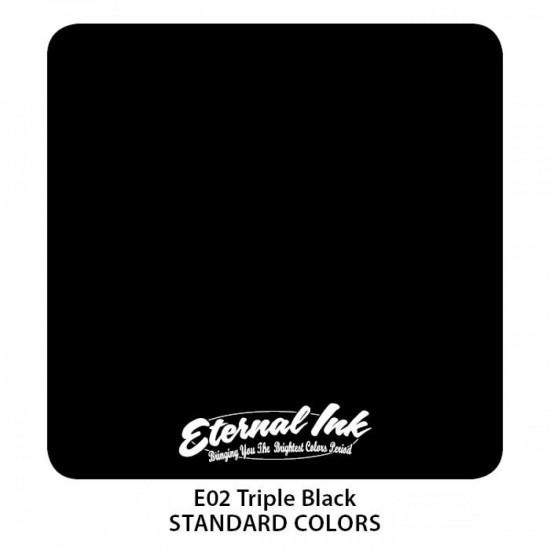 Eternal Tattoo İnk Triple Black 30 ML
