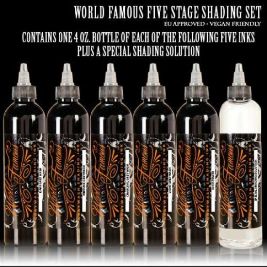 World Famous 5 Five Stage Shading Set