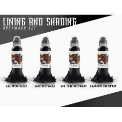 World Famous Lining Shading Set 1oz 30ml