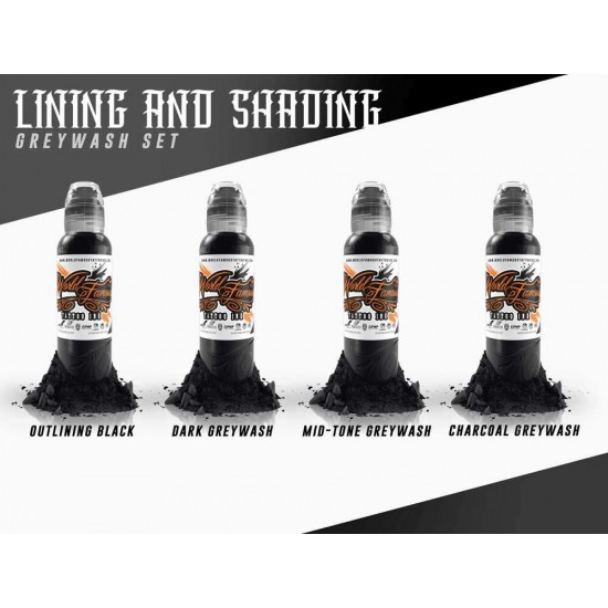 World Famous Lining Shading Set 1oz 30ml