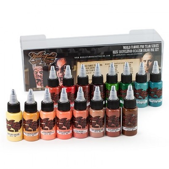 Oleg Shepelenko Realism 16 Color ink Set