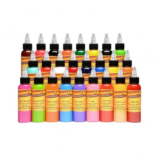 Eternal Tattoo İnk Top 25 Color Set 30 ML