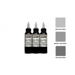 Eternal Tattoo İnk Grey Wash Set 60ml