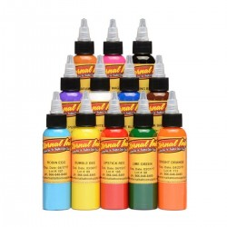 Eternal Tattoo İnk Sample 12 Color Set 30 ML
