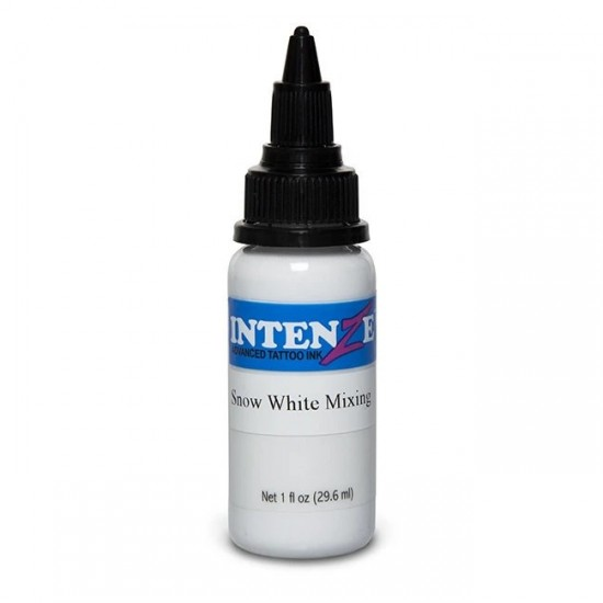 İntenze Tattoo İnk Snow White Mixing 30 ML