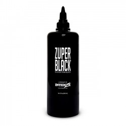 intenze Tattoo İnk Zuper Black 12oz 360 ML