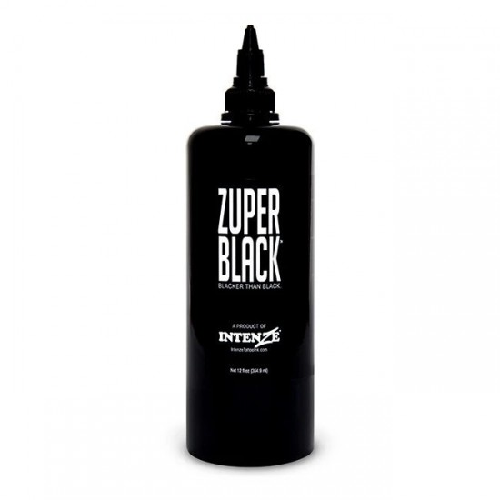 İntenze Tattoo İnk Zuper Black 12oz 360 ML