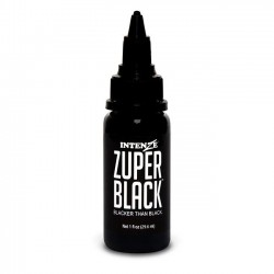 İntenze Tattoo İnk Zuper Black 30 ML