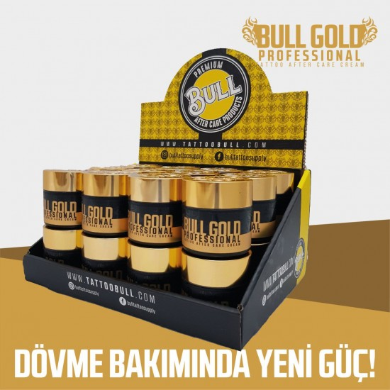 Bull Gold Professional Tattoo After Care Cream 24pcs