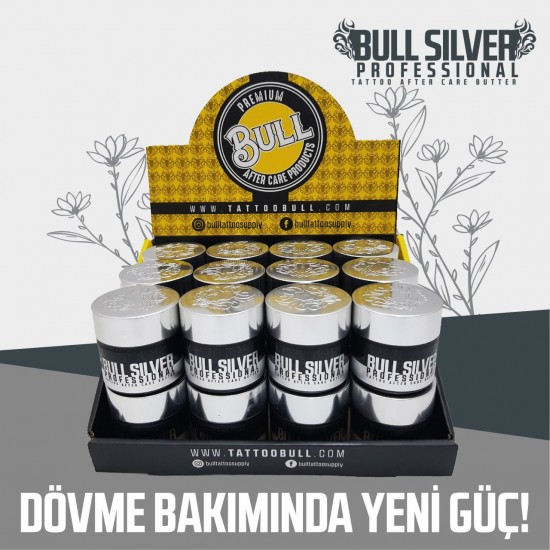 Bull Silver Professional Tattoo After Care Butter 24pcs