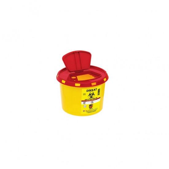 Medical Waste Bin 1.2 Liter