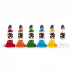 World Famous Simple Color Ink Set 6 x 30ml